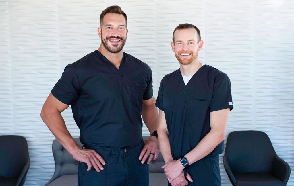 Addison Killeen and Brandon Chapek, Owners of Capital Dental in Lincoln Nebraska